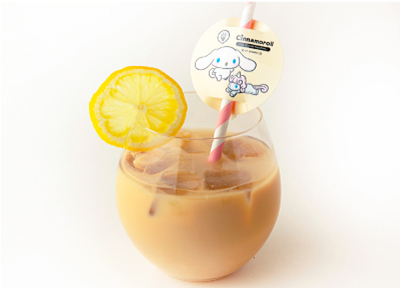 シナモンの アイスロイヤルレモンミルクティー